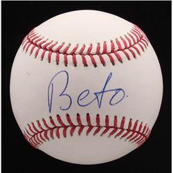 Beto O'Rourke Signed OML Baseball (Beckett COA)