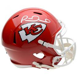 Patrick Mahomes Signed Kansas City Chiefs Full-Size Speed Helmet (Fanatics Hologram)