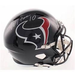 DeAndre Hopkins Signed Houston Texans Speed Full Size Helmet (JSA COA)