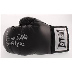 "Pernell Whitaker Signed Everlast Boxing Glove Inscribed ""Sweet Pea"" (Schwartz COA)"