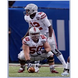 Chase Farris Signed Ohio State Buckeyes 8x10 Photo (Sports Collectibles Hologram)