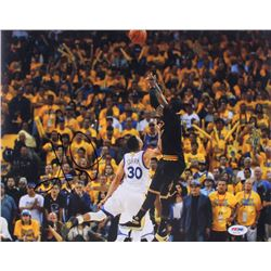 Kyrie Irving Signed Cleveland Cavaliers 11x14 Photo (PSA COA)