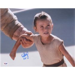 "Cailey Fleming Signed ""Star Wars: The Force Awakens"" 11x14 Photo (PSA COA)"
