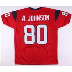 Andre Johnson Signed Jersey (JSA COA)