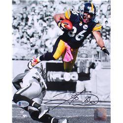 Hines Ward Signed Pittsburgh Steelers 8x10 Photo (Beckett COA)
