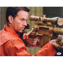 """Mark Wahlberg Signed """"Shooter"""" 11x14 Photo (PSA COA)"""