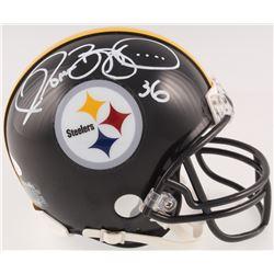 Jerome Bettis Signed Pittsburgh Steelers Mini Helmet (JSA COA)