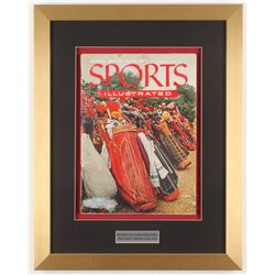 1954 Second Issue Sports Illustrated 15x19 Custom Framed Magazine Display
