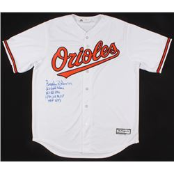 Brooks Robinson Signed Baltimore Orioles Jersey With (4) Inscriptions (PSA COA)