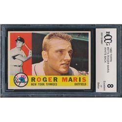 1960 Topps #377 Roger Maris (BCCG 8)