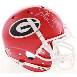 Hines Ward Signed Georgia Bulldogs Full-Size Authentic On-Field Helmet (Beckett COA)