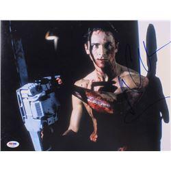 "Christian Bale Signed ""American Psycho"" 11x14 Photo (PSA COA)"