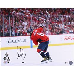 Alexander Ovechkin Signed Washington Capitals 16x20 Photo (Beckett COA)