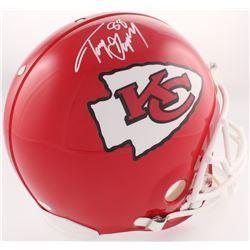 Tony Gonzalez Signed Kansas Chiefs Full-Size Authentic On-Field Helmet (JSA COA)