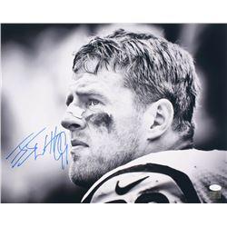 J.J. Watt Signed Houston Texans 16x20 Photo (JSA COA  Watt Hologram)