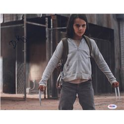 "Dafne Keen Signed ""Logan"" 11x14 Photo (PSA COA)"