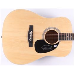 Adam Levine Signed Acoustic Guitar (PSA COA)