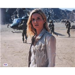 "Annabelle Wallis Signed ""The Mummy"" 11x14 Photo (PSA COA)"