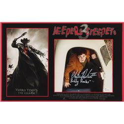 "Chester Rushing Signed ""Jeepers Creepers 3"" 11x17 Photo Inscribed ""Buddy Hooks""  ""III"" (JSA COA)"