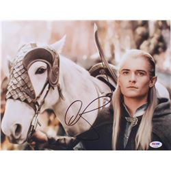 """Orlando Bloom Signed """"The Lord of the Rings"""" 11x14 Photo (PSA COA)"""