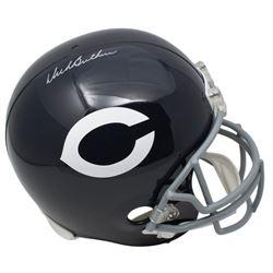 Dick Butkus Signed Chicago Bears Full-Size Throwback Helmet (JSA COA)