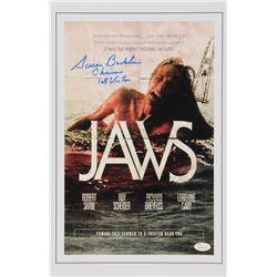 "Susan Backlinie Signed ""Jaws"" 11x17 Photo Inscribed ""Chrissie""  ""1st Victim"" (JSA COA)"