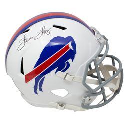 Thurman Thomas Signed Buffalo Bills Full-Size Speed Helmet (JSA COA)