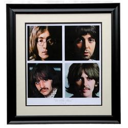 """The Hulton Archive - The Beatles """"The White Album"""" Limited Edition 23x24 Custom Framed Fine Art Gicl"""