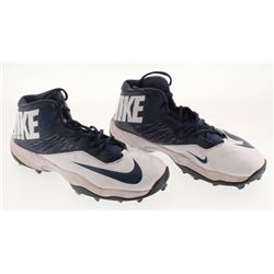 Pair of (2) Dallas Cowboys Game-Used Nike Cleats (PA LOA)