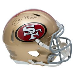 Joe Montana Signed San Francisco 49ers Full-Size Authentic On-Field Speed Helmet (JSA COA)