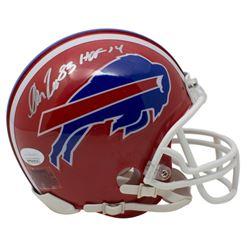 """Andre Reed Signed Buffalo Bills Mini Helmet Inscribed """"HOF 14"""" (JSA COA)"""