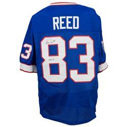 """Andre Reed Signed Jersey Inscribed """"HOF 14"""" (JSA COA)"""