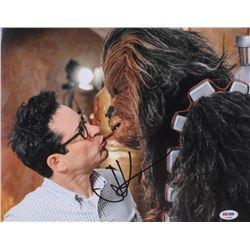 J.J. Abrams Signed 11x14 Photo (PSA COA)