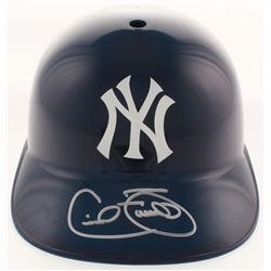 Cecil Fielder Signed New York Yankees Full-Size Batting Helmet (JSA COA)