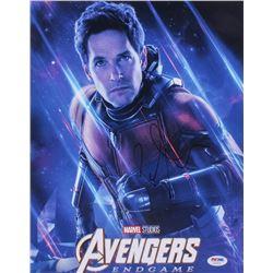 "Paul Rudd Signed ""Avengers: Endgame"" 11x14 Photo (PSA COA)"