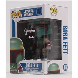 """Jeremy Bulloch Signed """"Star Wars"""" Boba Fett #08 Funko Pop! Vinyl Figure Inscribed """"Boba Fett"""" (Becke"""