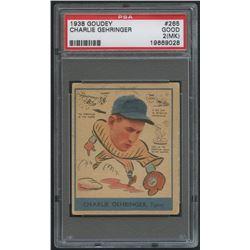 1938 Goudey Heads-Up #265 Charley Gehringer (PSA 2) (MK)