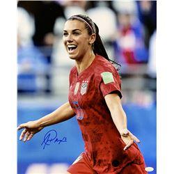 Alex Morgan Signed Team USA Soccer 16x20 Photo (JSA COA)
