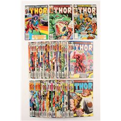 Lot of (53) 1978-1983 Thor Marvel Comic Books (1st Series: Journey Into Mystery)