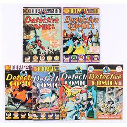 "Run of (6) 1974-75 ""Detective Comics"" #442-447 DC Comic Books"