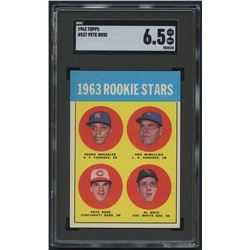 1963 Topps #537 Rookie Stars / Pete Rose RC (SGC 6.5)