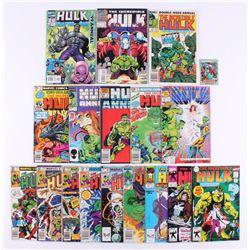 "Lot of (17) 1981-99 ""Incredible Hulk"" #258-#400 Marvel Comic Books"