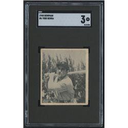 1948 Bowman #6 Yogi Berra RC (SGC 3)
