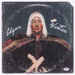 "Edgar Winter Signed ""Jasmine Nightdreams"" Record Cover (PSA COA)"