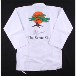 "Ralph Macchio Signed ""Karate Kid"" Karate Uniform Jacket (JSA COA)"
