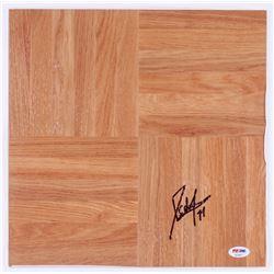 Domantas Sabonis Signed Vinyl Plank Floor Piece (PSA COA)