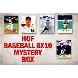 Schwartz Sports Baseball Hall of Famers Signed Mystery Box 8x10 Photo Series 1 (Limited to 100) - **