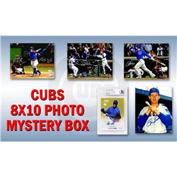 Chicago Cubs Signed Mystery Box 8x10 Photo - 2016 World Champions Edition – Series 7 (Limited to 1