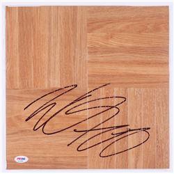 Willie Cauley-Stein Signed Vinyl Plank Floor Piece (PSA Hologram)
