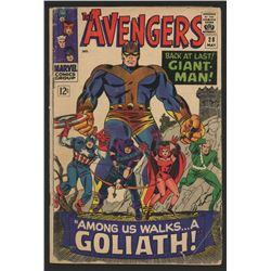 """1966 """"The Avengers"""" #28 Marvel Comic Book"""